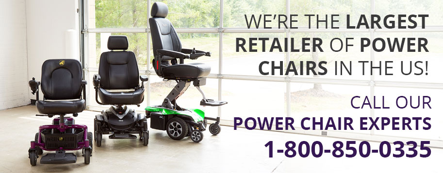 largest retailer of power chairs