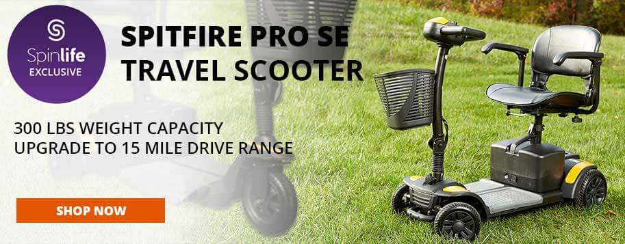 spitfire pro se travel scooter
