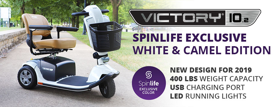 spinlife exclusive white and camel edition