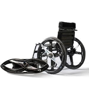 Morph Foldable Wheelchair Wheels