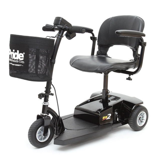 Pride go go es2 3 wheel scooter pride 3 wheel travel for Go go motorized scooter