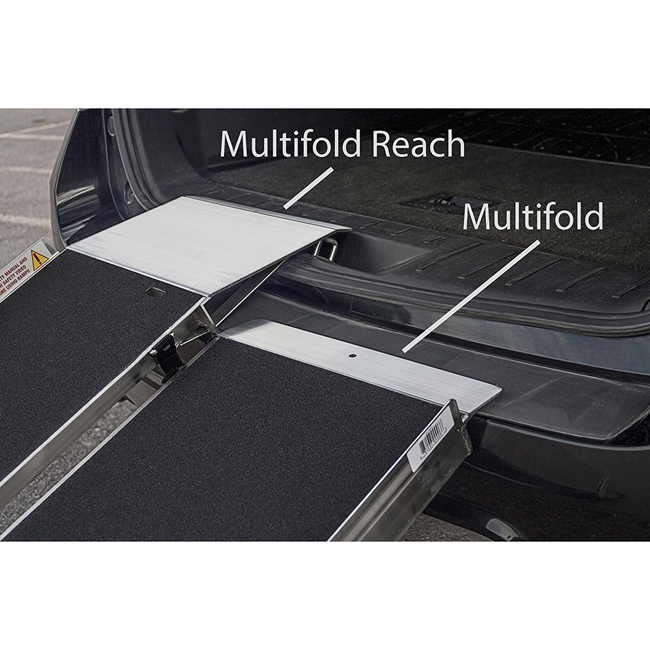 Multifold Reach Ramp Van Ramp