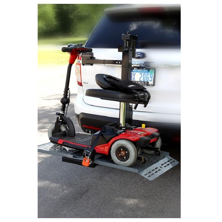 Wheelchair Carrier Mini Lift Model 117 Wheelchair