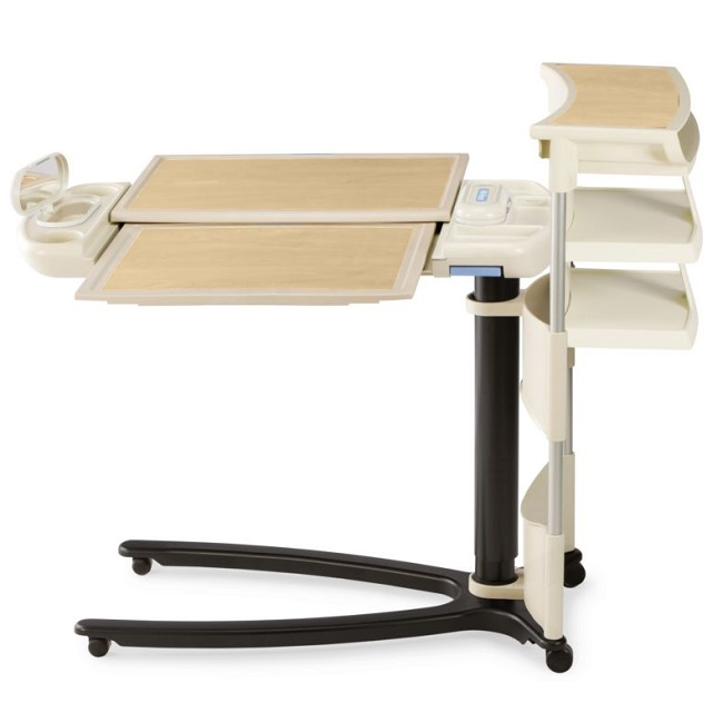 Art of Care Overbed Table 636 with Extension and Shelf