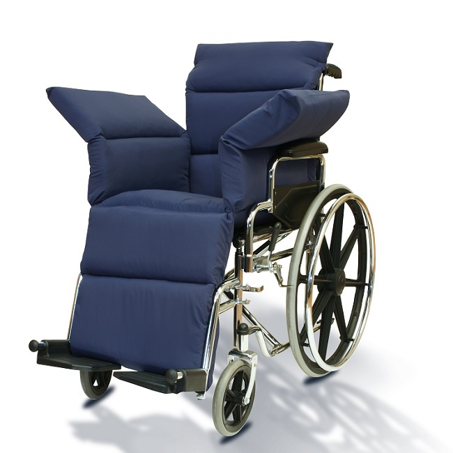Wheelchair Seat Cushions Product : Ny ortho wheelchair comfort seat overlay