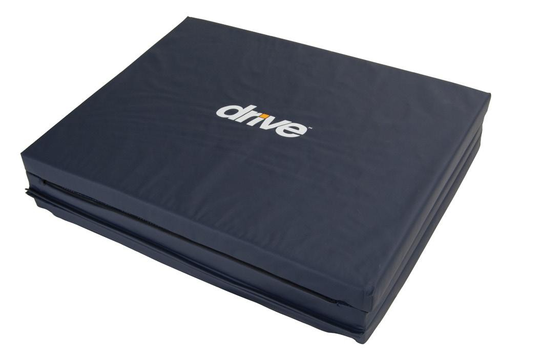 Tri-Fold Bedside Fall Mat Fall Prevention
