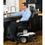 Jazzy Air elevating power wheelchair by Pride Mobility in Black