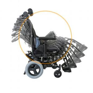 Quickie SR45 Tilt Wheelchair
