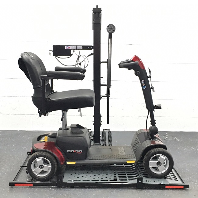 Wheelchair carrier hold 39 n 39 go scooter lift wheelchair for Motorized wheelchair lifts for cars