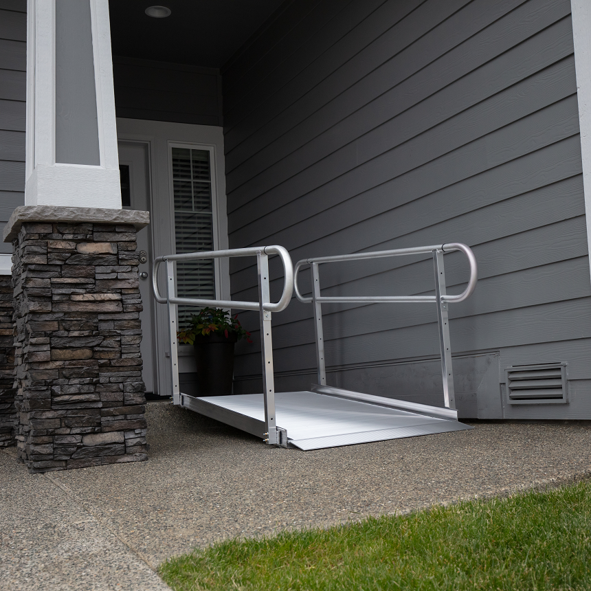 GATEWAY™ 3G Ramp with Two-Line Handrails