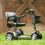 Phoenix HD 4-Wheel Portable Scooter by Drive Medical