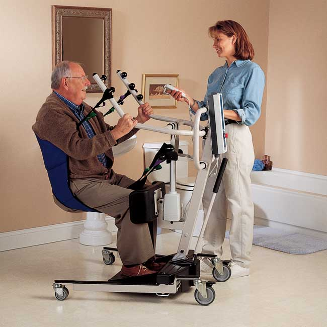 Invacare Reliant Stand Up Lift W Manual Base Invacare