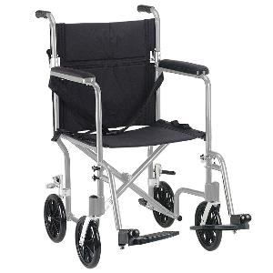 Deluxe Lightweight Transport Wheelchair