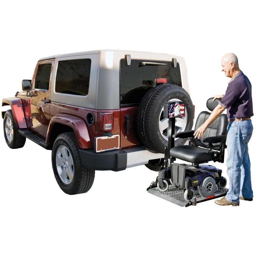Harmar Al500 Platform Power Wheelchair Harmar Outside