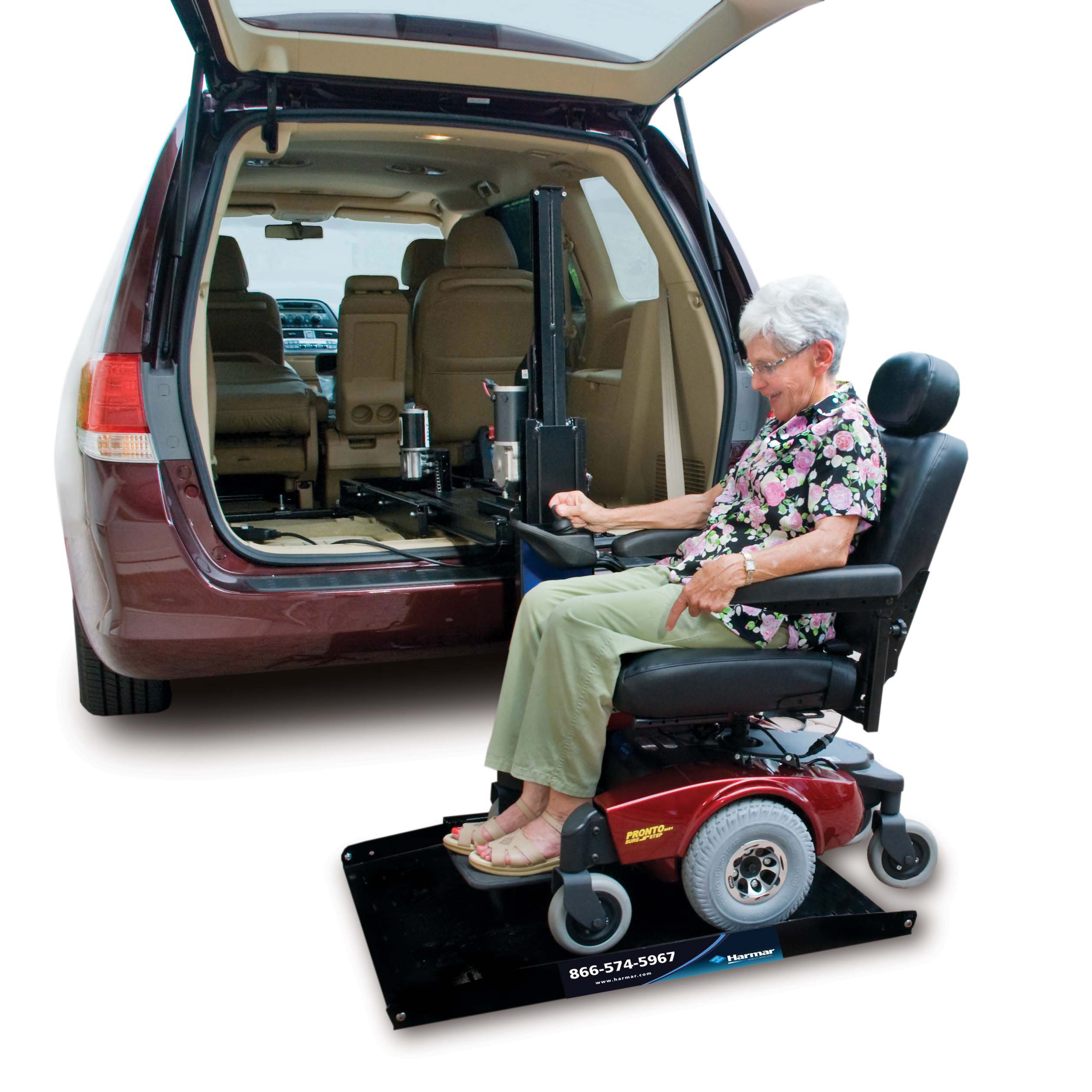 Wheelchair Lift For Car >> Harmar Al600 Hybrid Power Chair And Scooter Lift Harmar Inside
