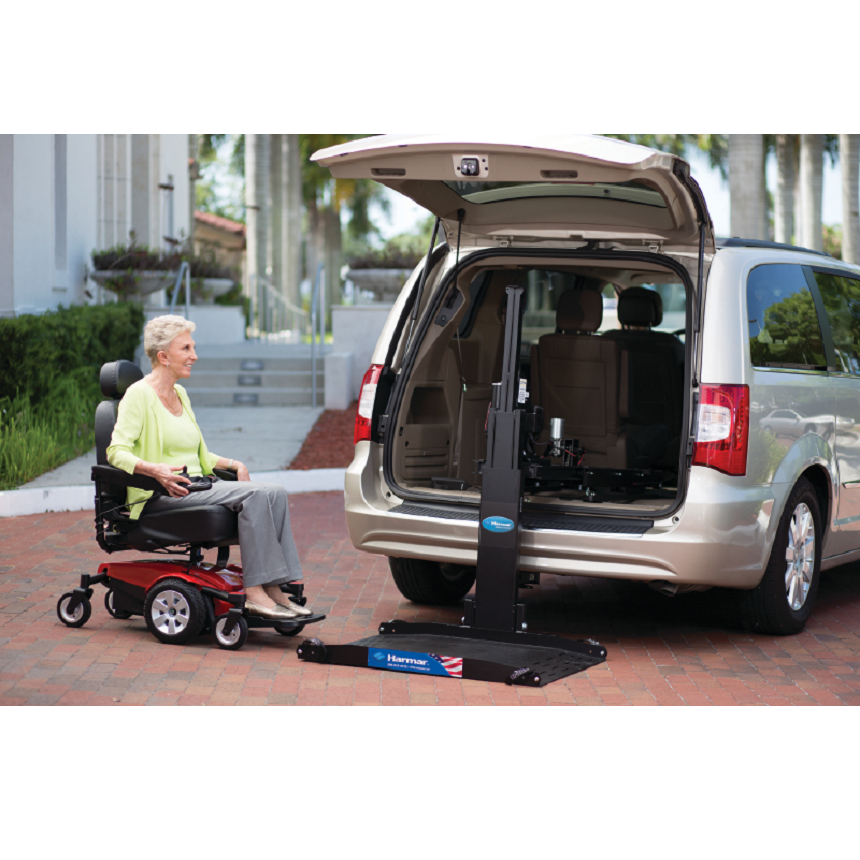 AL600 Hybrid Power Chair and Scooter Lift