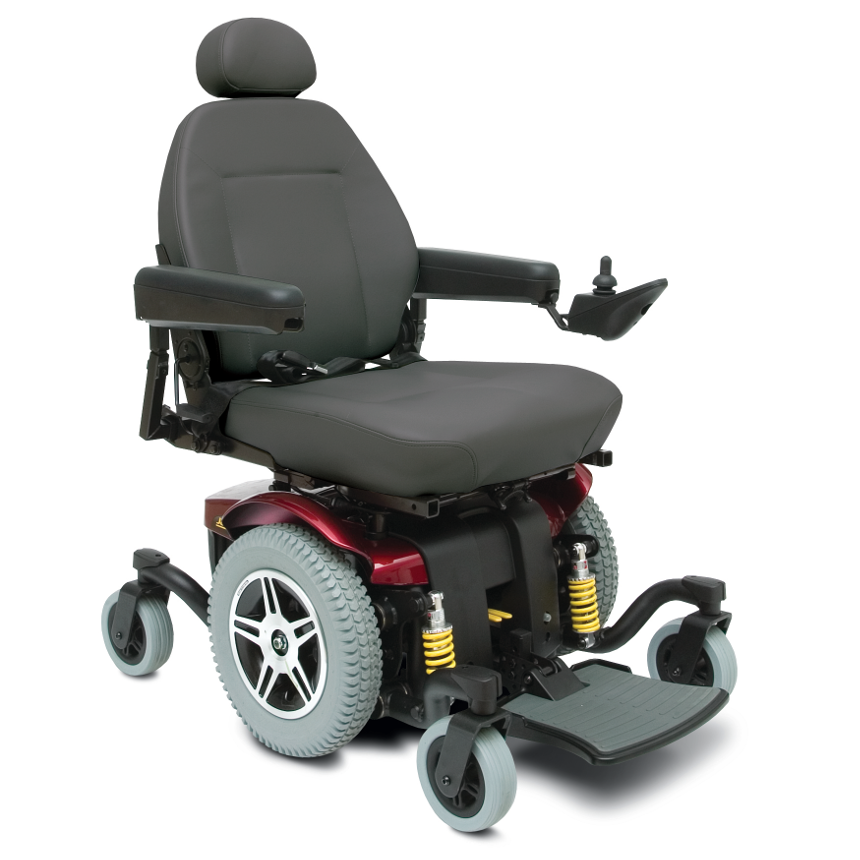 Pride jazzy 614 hd pride heavy duty high weight capacity for Mobility chair