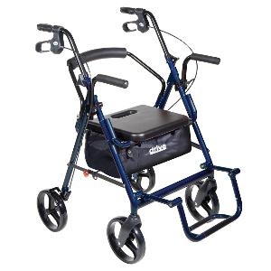 Duet Transport Chair and Rollator