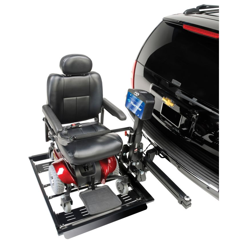 Harmar al560 automatic universal power chair harmar for Motorized wheelchair lifts for cars