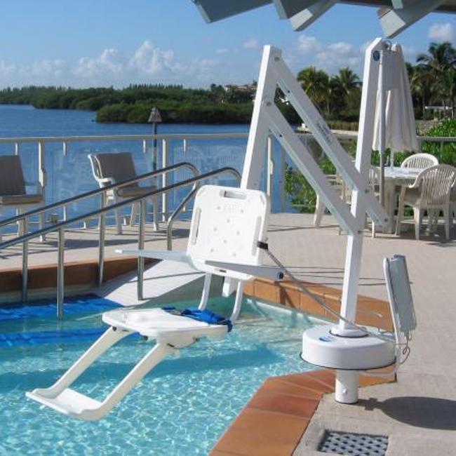 S R Smith Splash Pool Lift S R Smith Power Pool Lifts