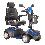 Drive Medical Ventura DLX 4-Wheel Full Size Mobility Scooter In Blue