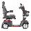 Drive Medical Ventura DLX 4-Wheel Full Size Mobility Scooter In Red