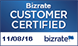 Rate your experience with Bizrate