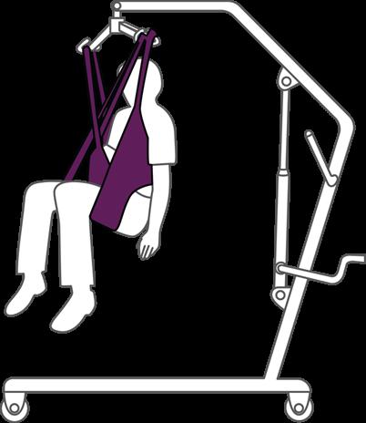 Hoyer Lift High Lifting