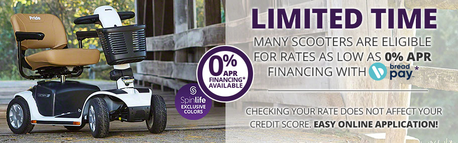 0% APR Financing Available through Bread*