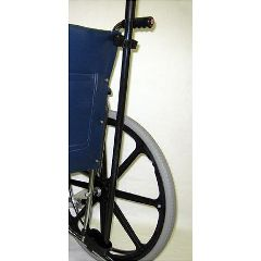 Drive medical deluxe manual wheelchair cane and crutch holder.