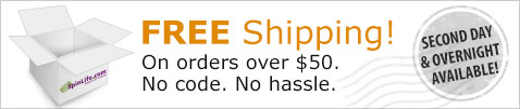 FREE Ground Shipping on Orders Over $50