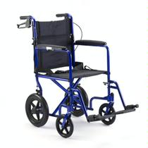 "Invacare Lightweight W/12""  Rear Wheels Lightweight Transport Wheelchair"