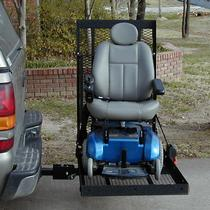 E-Z Carrier E-Z Carrier 2 Fold-Up Scooter & Power Wheelchair Outside Manual Vehicle Lift