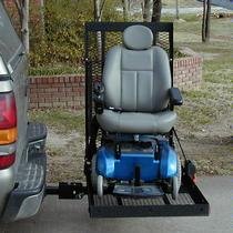 E-Z Carrier E-Z Carrier 3 Adjustable Height Scooter & Power Wheelchair Outside Manual Vehicle Lift