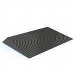 "EZ-Access 1.5"" Rubber Threshold Ramp w/Beveled Sides"