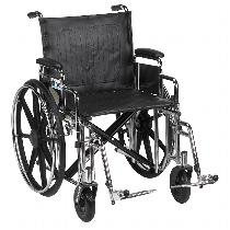 Drive Medical Sentra HD500 Heavy Duty/High Weight Capacity Wheelchair