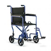 Invacare Deluxe Lightweight Lightweight Transport Wheelchair