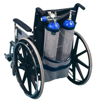 EZ-Access Wheelchair Oxygen Carry-on Packs, Pouches & Holders