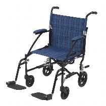 Drive Medical Fly-Lite Lightweight Transport Wheelchair