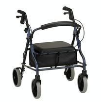 Nova Zoom Series Rolling Walkers W/Handbrakes