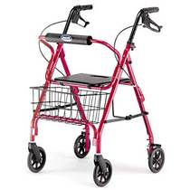 Invacare Value Line Rolling Walkers W/Handbrakes
