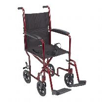 Drive Medical Lightweight Transport Chair Lightweight Transport Wheelchair
