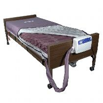 Drive Medical Med Aire Alternating Pressure Mattress Replacement System With Low Air Loss Air Systems