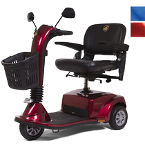Golden Technologies Companion Midsize 3-Wheel 3-Wheel Full Size Scooter