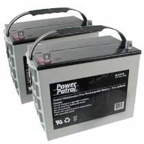 Interstate Batteries 12V 75 AH Sealed Lead Acid (Pair) Battery