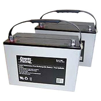 12V 90 AH Sealed Lead Acid (Pair) Batteries