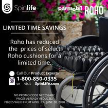 ROHO Mid Profile Air Wheelchair Cushion