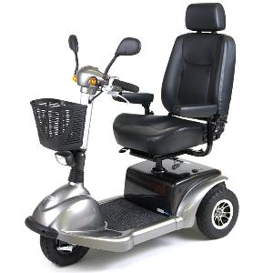 Drive Medical Prowler 3-Wheel Heavy Duty/High Weight Capacity Scooter
