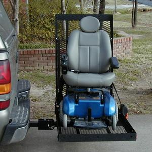 E-Z Carrier E-Z Carrier 3 Adjustable Height Scooter & Power Wheelchair Lift Outside Manual Vehicle Lift