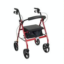 "Drive Medical Aluminum Rollator w/7.5"" Casters Rolling Walkers W/Handbrakes"